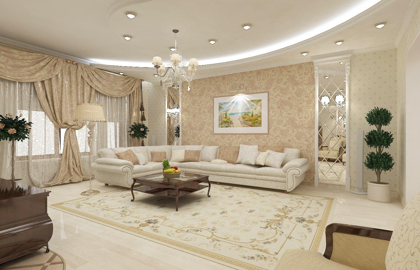 фото дизайна квартир в классическом стиле