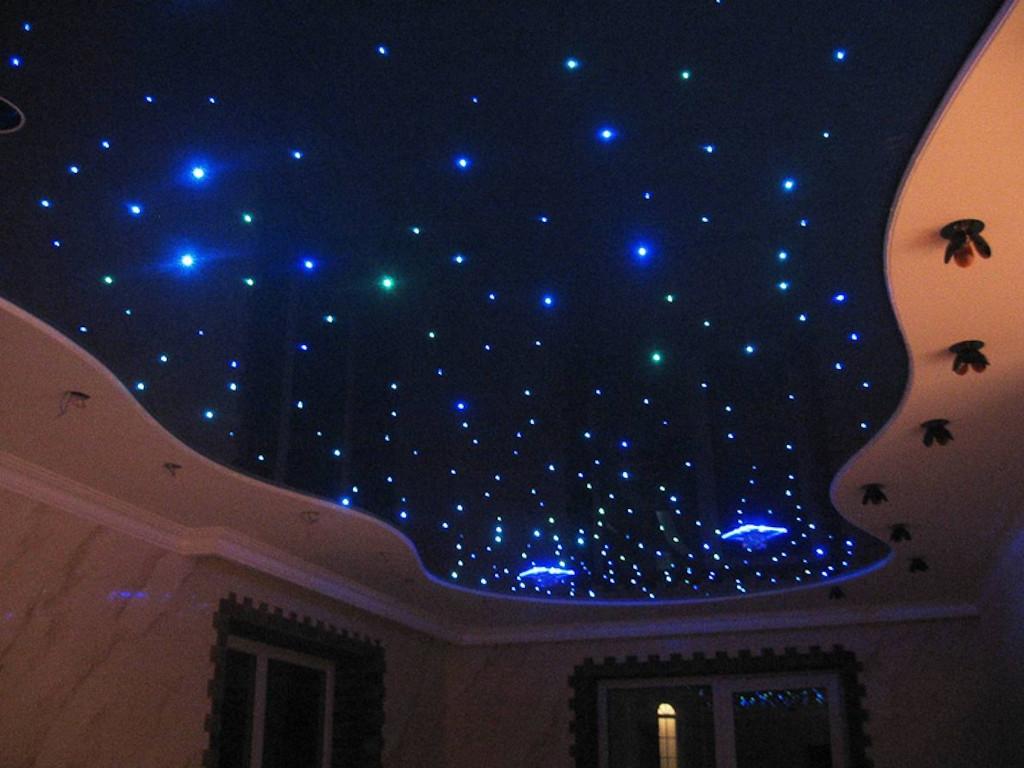 Натяжной потолок звездное небо на Площадь 12 м2